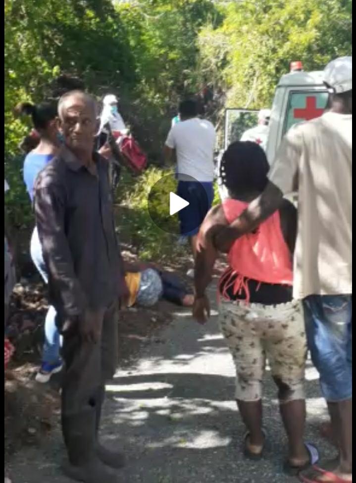 Screenshot 20200830 174205 WhatsApp - Cinco 5 nacionales haitianos muertos en accidente carretera Polo-Cabral